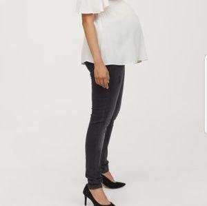 H&M Mama Maternity Skinny High Rib Jeans